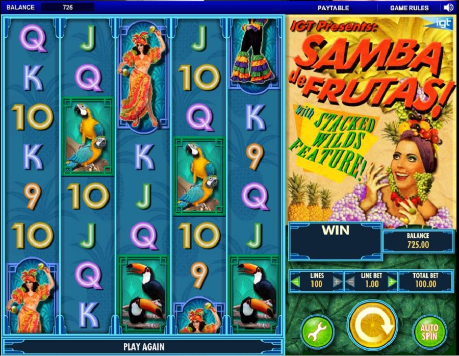 Výherní automat Samba De Frutas