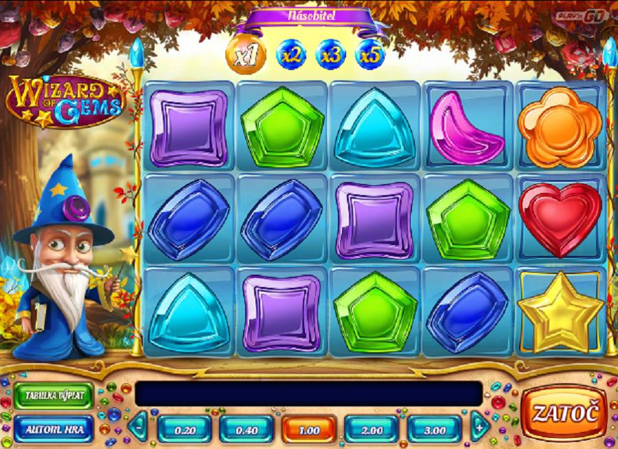 Výherní automaty Wizard of Gems