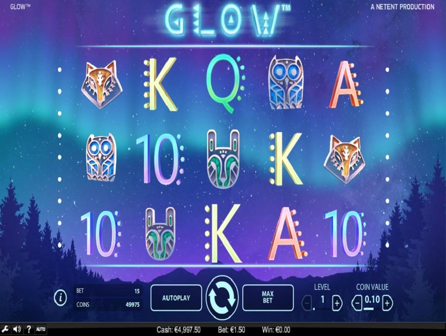 Výherný automat Glow