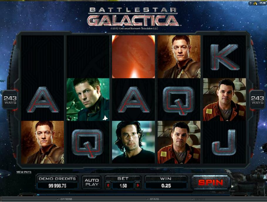 Battlestar Galactica video slot
