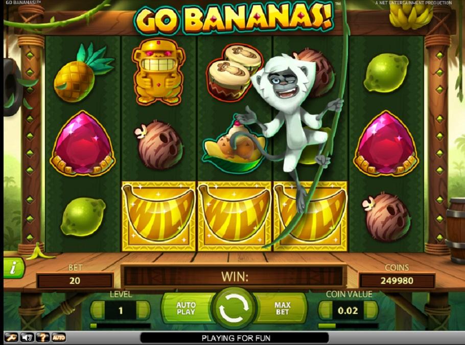 Go Bananas online slot game