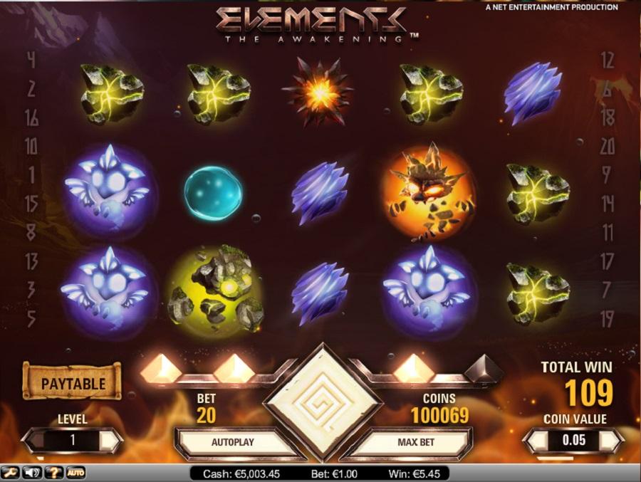 Elements-Spielautomaten