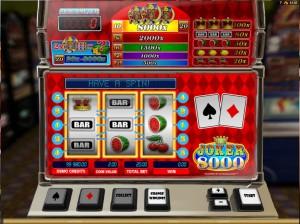 Slotowe gry Joker 8000
