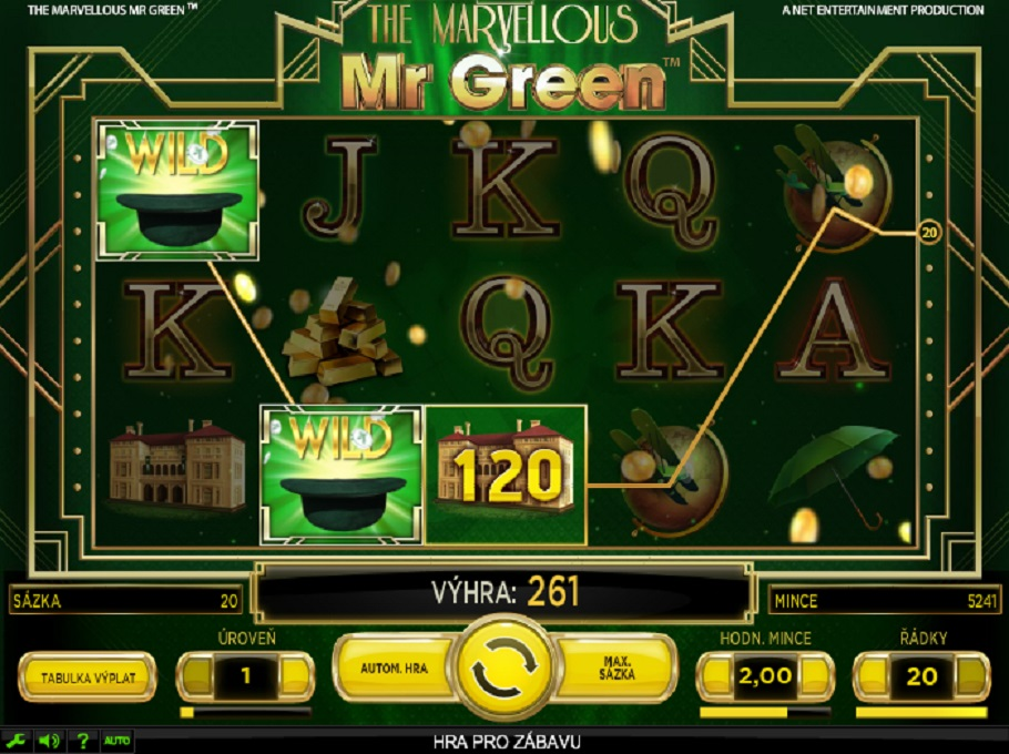 Marvellous Mr. Green online slot