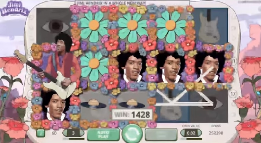Hracie automaty Jimi Hendrix