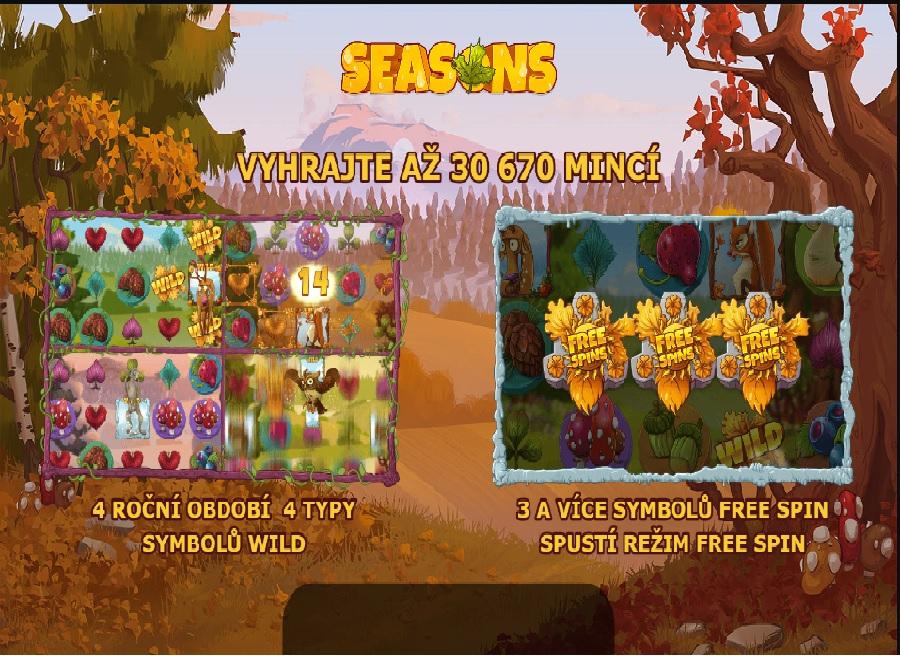 Výherný automat Seasons