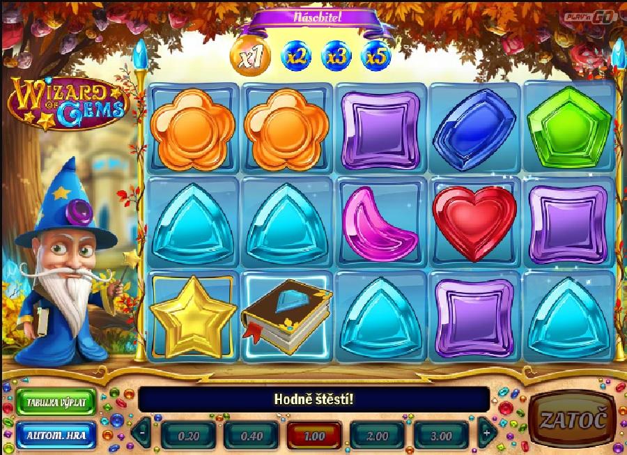 Hrací automaty Wizard of Gems