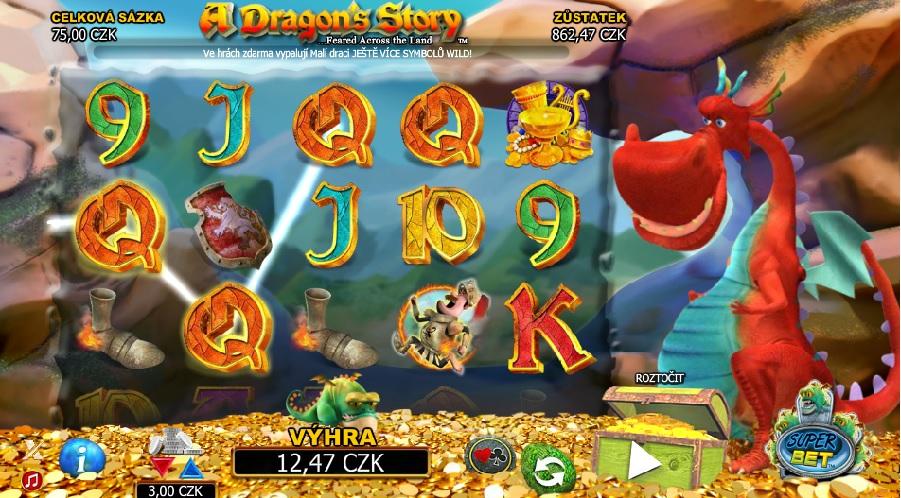 A dragon story automaty