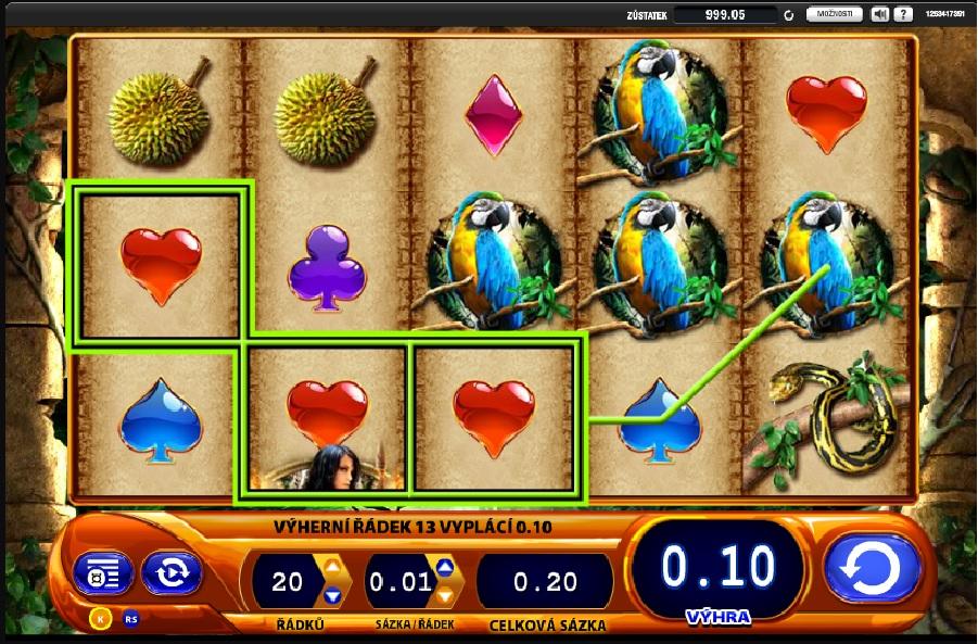 Výherní hrací automaty Amazon Queen