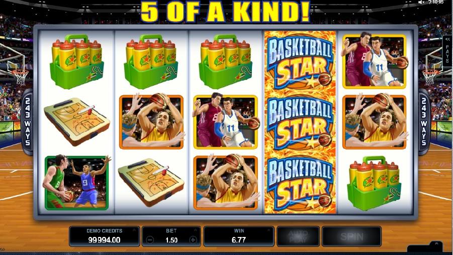 Hracie automaty Basketball Star