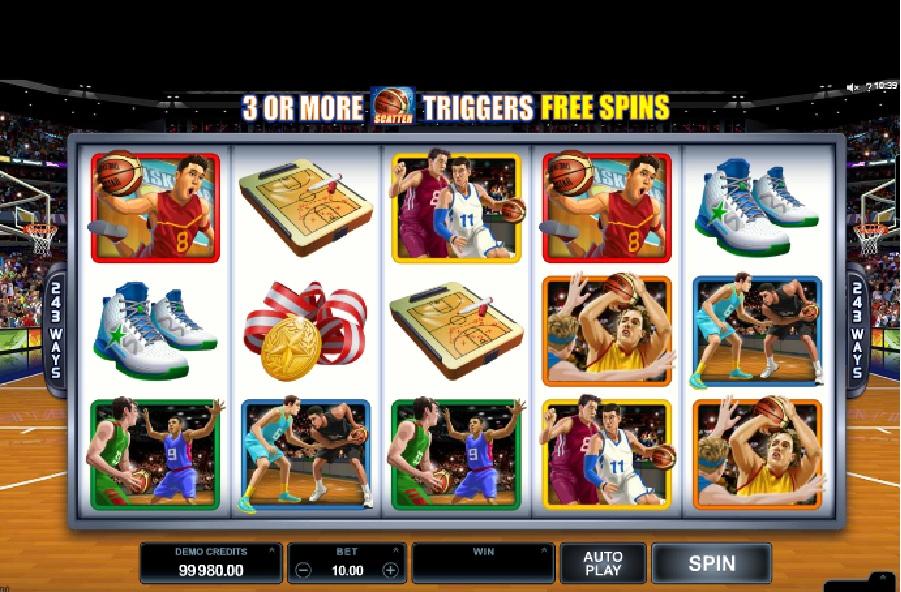 Výherní automaty Basketball Stars