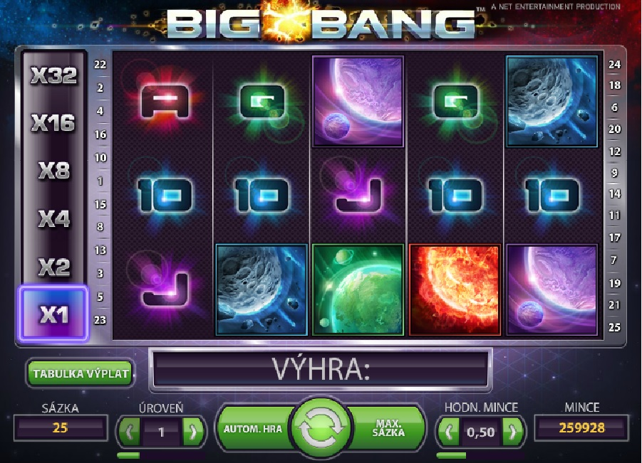 Videoautomaty Big Bang