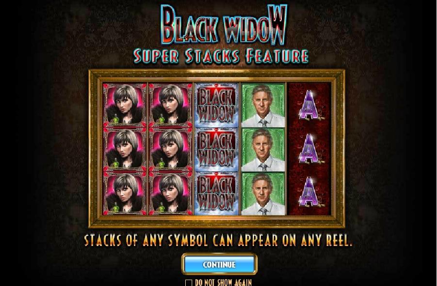 Výherní hrací automaty Black Widow