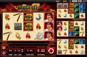 Výherné automaty Bruce Lee II