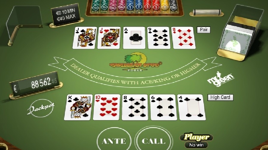 Caribean Stud Poker online