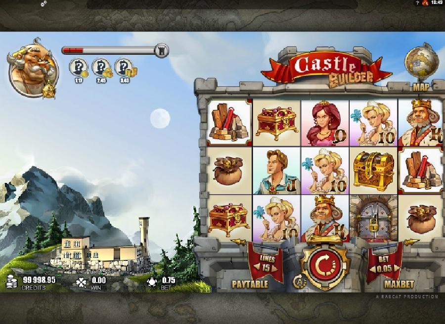 Online automat Castle builder
