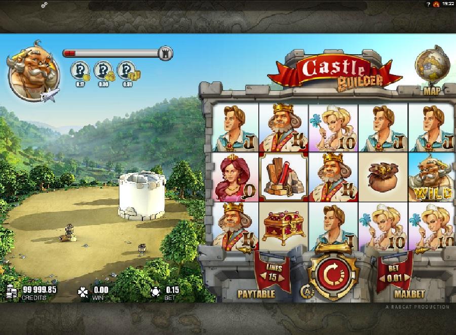 Výherní automaty Castle Builder