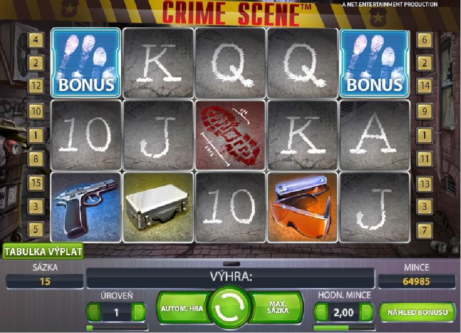 Automaty Crime Scene online