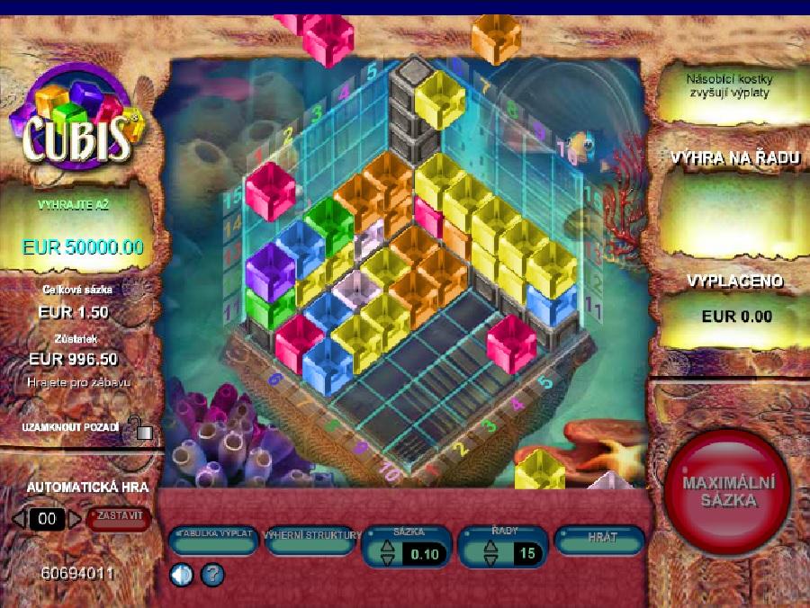 Automatova hra Cubis