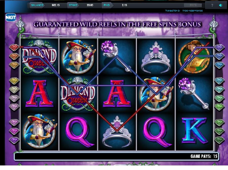 Automaty Diamond Queen