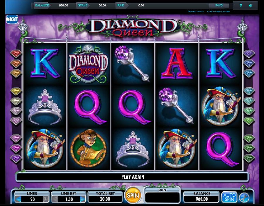 Výherné automaty Diamond Queen
