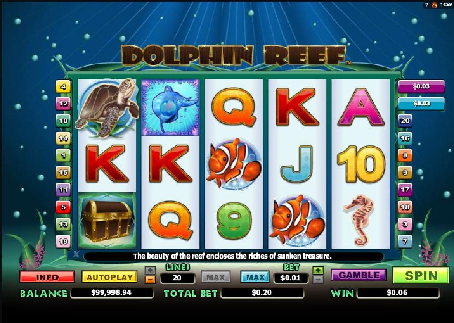 Dolphin Reef výherní automat