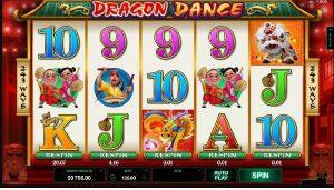 Dragon Dance hrací automaty