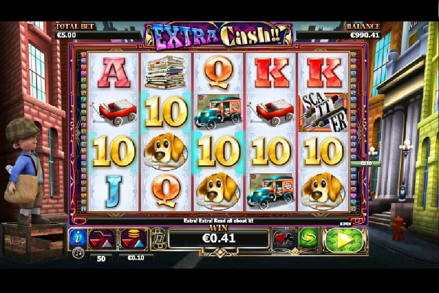 Výherní automaty Extra Cash