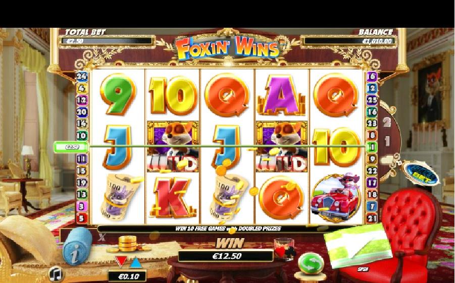 Výherní automaty Foxin Wins