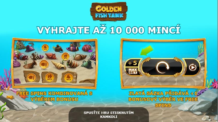 Výherné automaty Golden Fish Tank