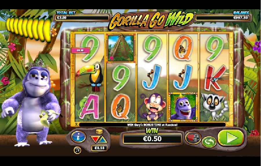 Automatové hry Gorilla go Wild