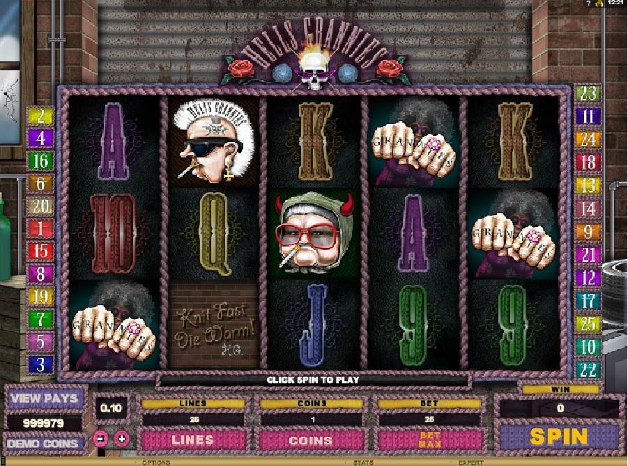 Výherní automaty Hell´s Grannies