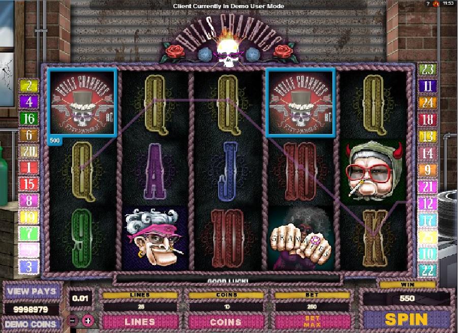 Automatová hra Hell´s Granies
