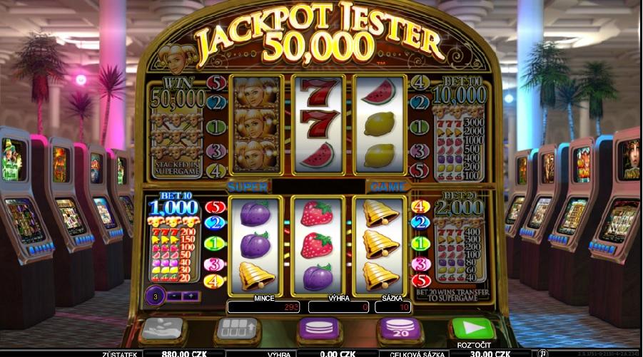 Automaty hry Jackpot Jester 50 000