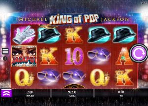 Automaty Michael Jackson King of Pop