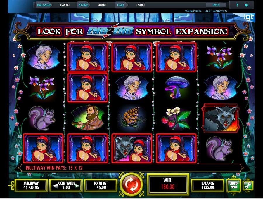 Výherní automat Miss Red