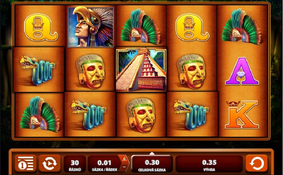 Výherné hracie automaty Montezuma