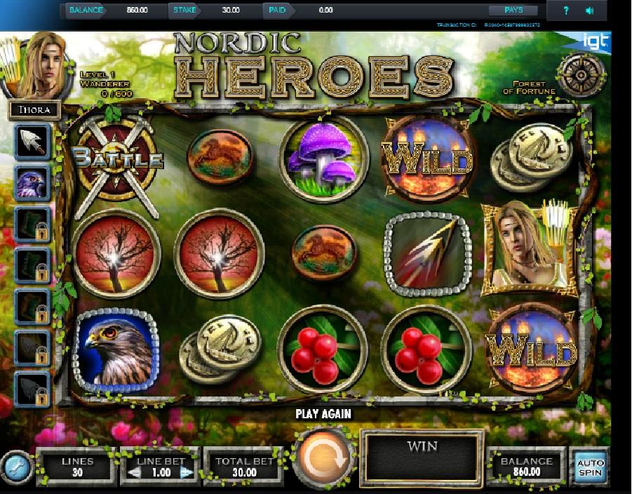 Výherné hracie Nordic Heroes