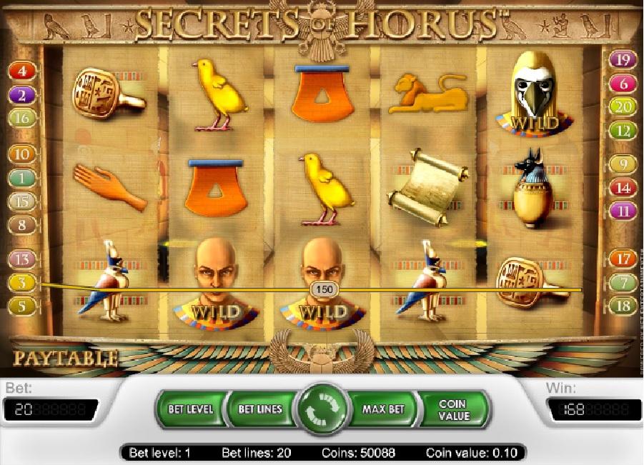 Automatové hry Secrets of Horus