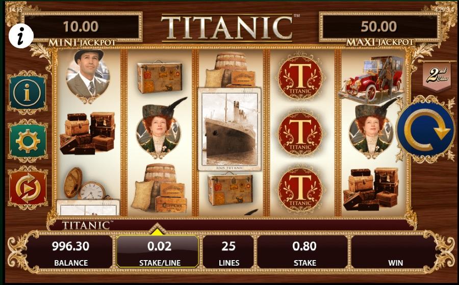Výherný automat Titanic