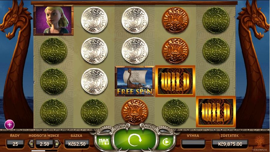 Vikings go wild výherný automat