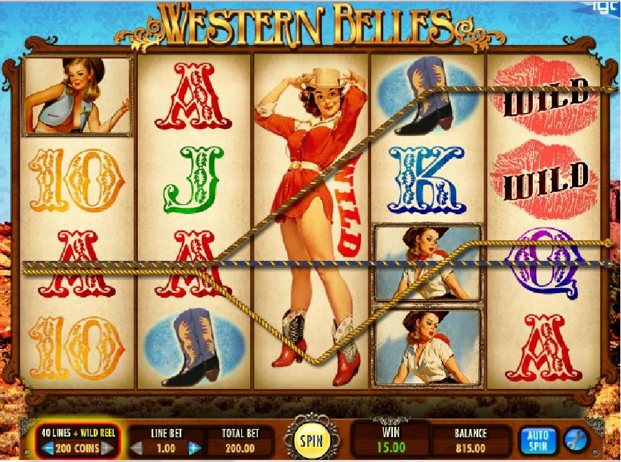 Automaty Western Belles