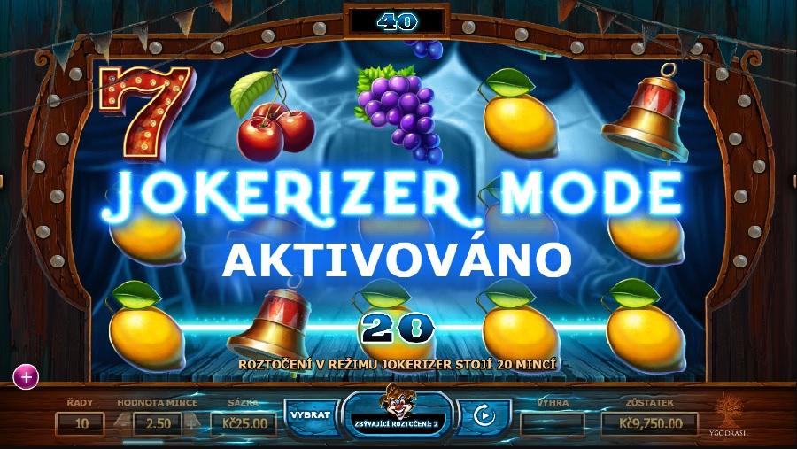 Wicked Circus automatová hra
