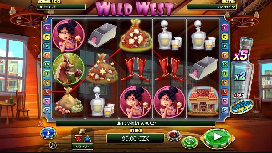 Výherné automaty Wild West