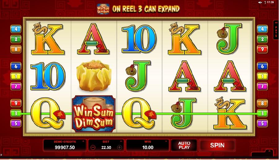 Win sum dim sum automaty hry