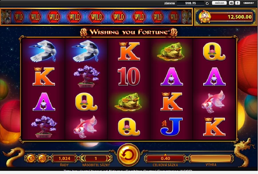 Automaty Wishing you fortune