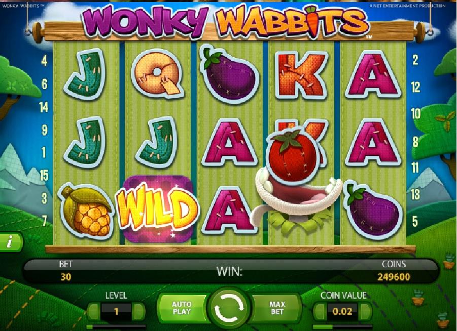 Hrací výherní automaty Wonky Wabbits