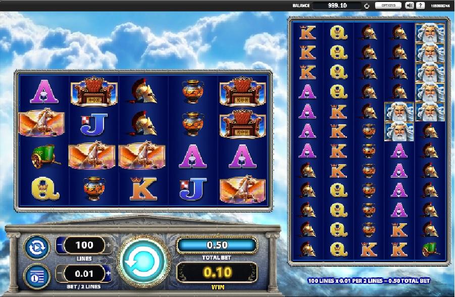 Výherní automatová hra Zeus 1000