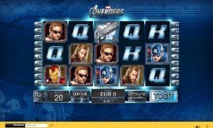 Automatová hra Avengers
