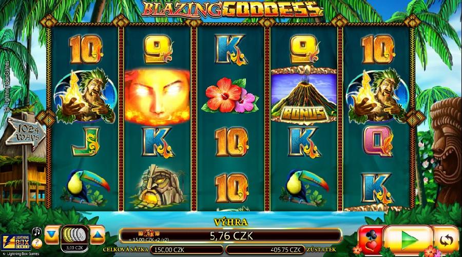 Výherní automaty Blazing Goddes
